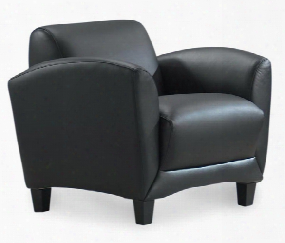 Leather Club Chair By Office Source