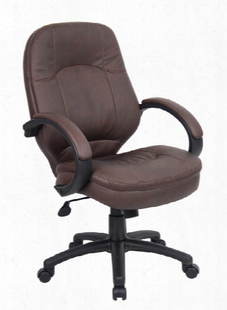 Leatherplus Executive Chair By Boss Office Chairs