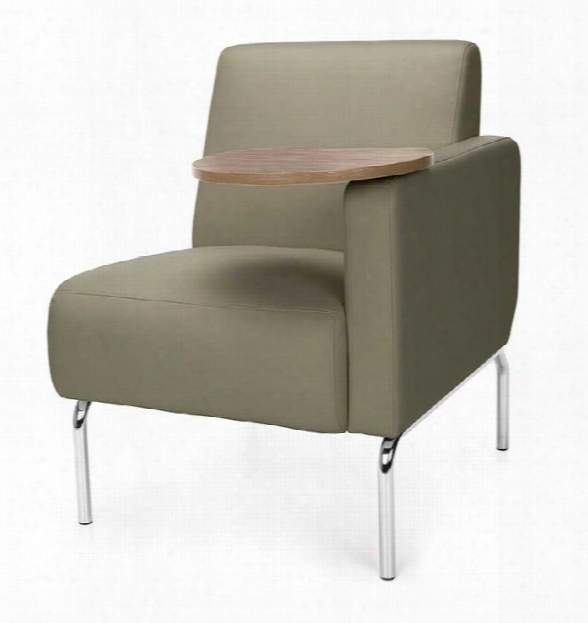 Left Arm Modular Lounge Chair With Tablet By Ofm