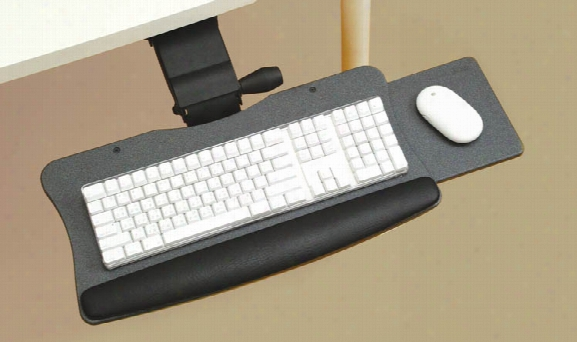Lift & Lock With Slide Out Keyboard System By Office Source