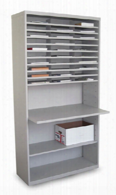 Mail Sorter With Adjustable Worksurface By Marvel