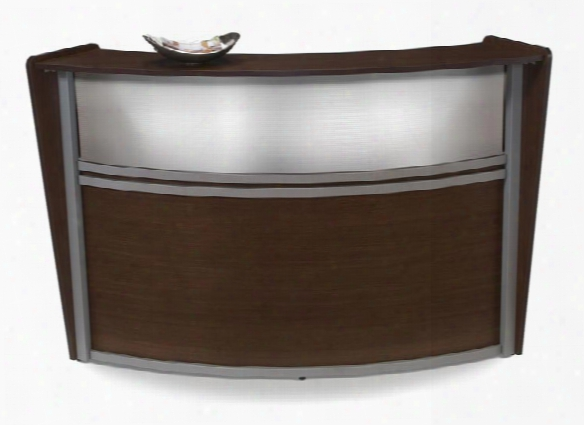 Marque Translucent Front Single Reception Station By Ofm