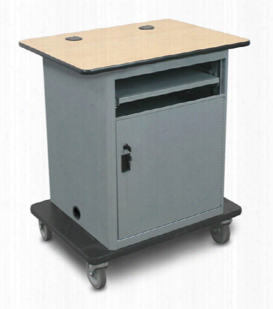 Marvel Vizion Instructor Series Av Cart - Base, Lockable Door. By Marvel