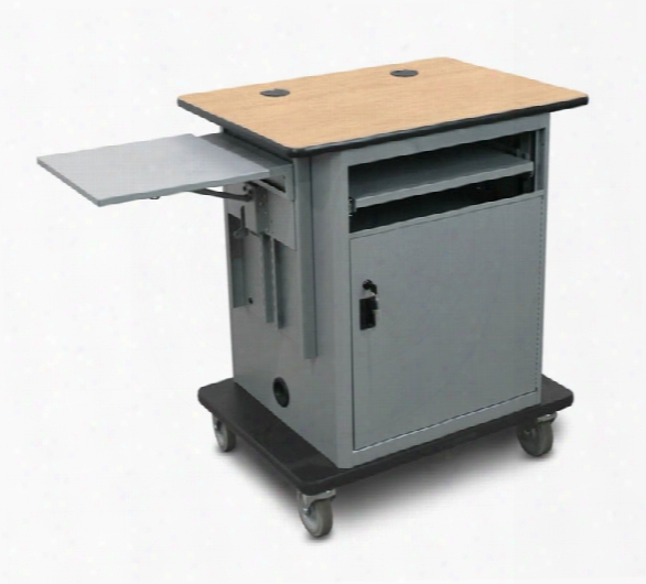 Marvel Vizion Instructor Series Av Cart - Bronze, 16ã¢â'¬ï¿¾w X 17.5ã¢â'¬ï¿¾d Slow Close Shelf, Lockable Door. By Marvel