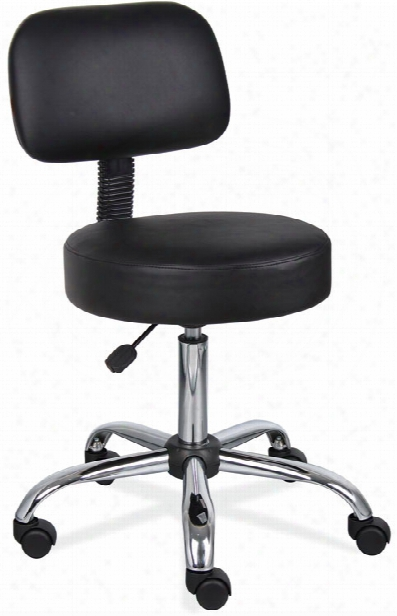 Medical Stool With Back By Office Source