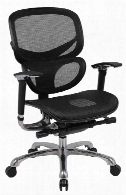 Mesh Back Chair By Boss Office Chairs