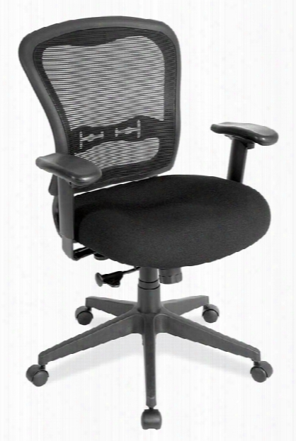Mesh Back Chair With Fabric Seat By Office Source