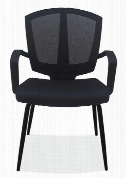 Mesh Back Guest Chair By Office Source