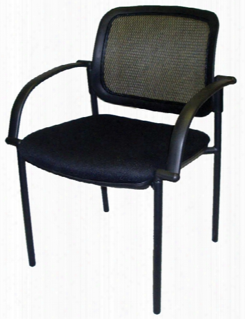 Mesh Back Guest Side Chair By Marquis