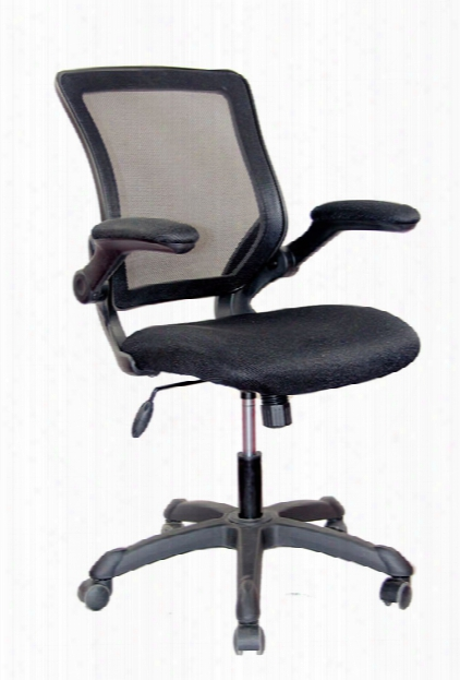 Mesh Task Chair With Flip Up Arms By Techni Mobili