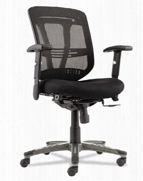 Mid Back Chair With Fabric Seat By Alera