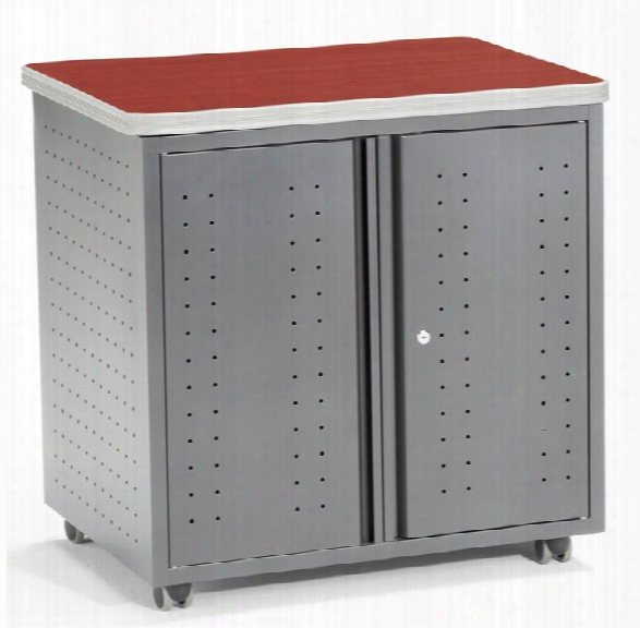 Mobile Locking Utility Table By Ofm