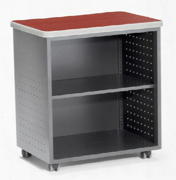 Mobile Utility Table With Shelf By Ofm