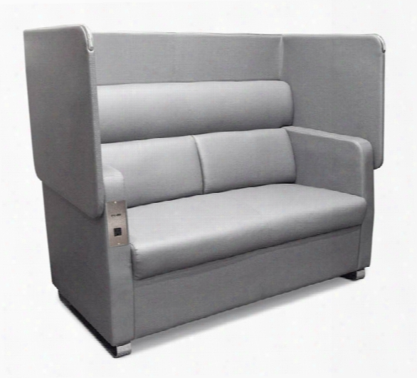 Morph Soft Seating Sofa With Privacy Panel By Ofm