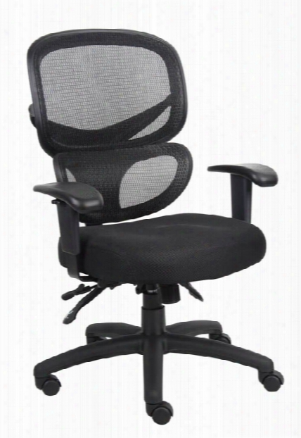 Multi Function Mesh Task Chair By Boss Office Chairs