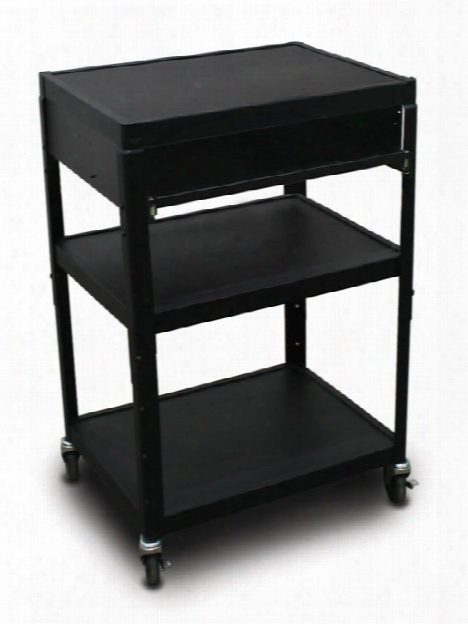 Mv2642 Cart With 1 Pull-out Front-shelf By Marvel