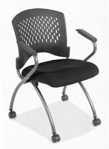 Nesting Chair With Casters By Office Source