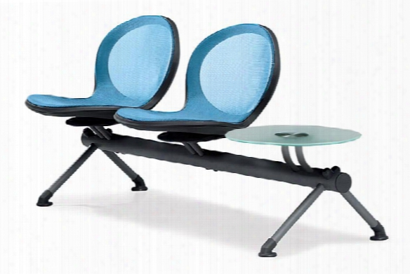 Net Series 3 Unit Beam With 2 Seats And 1 Table By Ofm