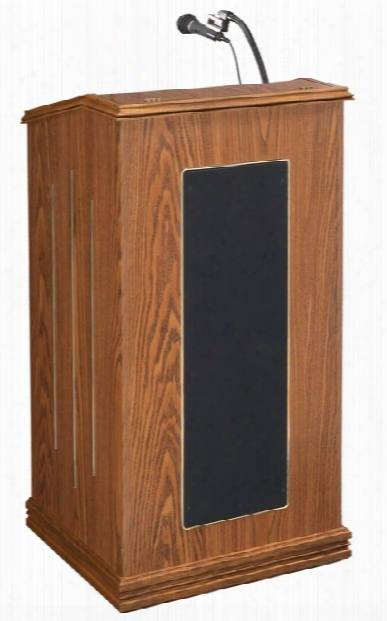 Prestige Full Size Floor Lectern By Oklahoma Sound