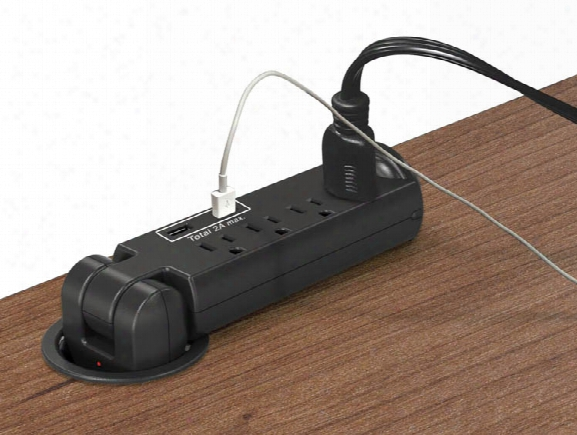 Pull Out Power Grommet By Office Source