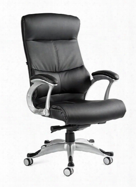 Singapore Premium Bonded Leather Chair By Samsonite