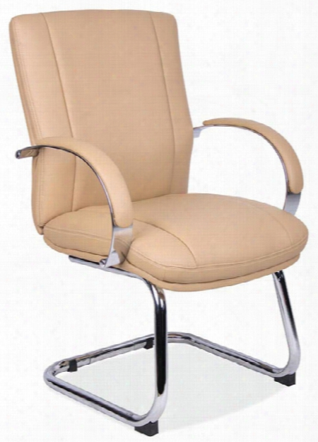 Sled Base Guest Chair With Chrome Frame By Office Source