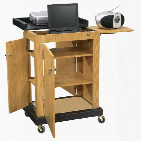 Smart Cart Lectern By Oklahoma Sound