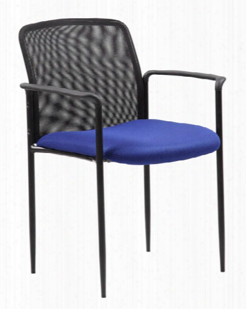 Stackable Mesh Guest Chair By Boss Office Chairs