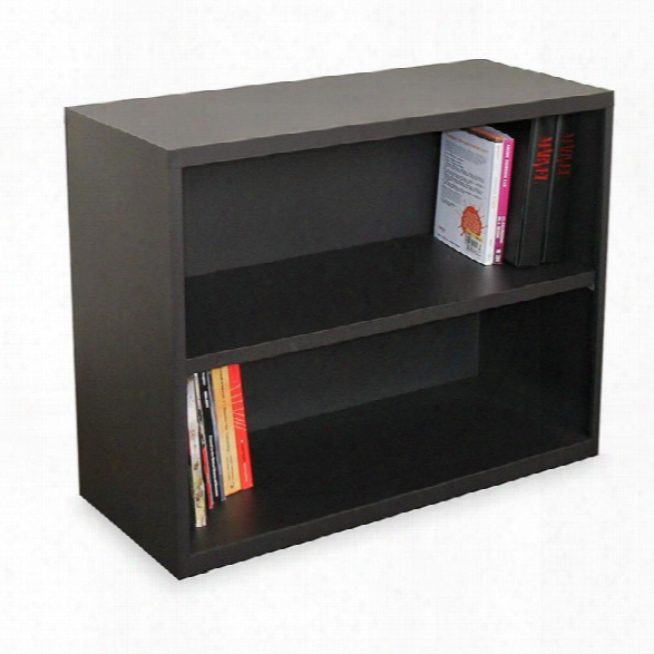 Steel 2 Shelf Bookcase By Marvel