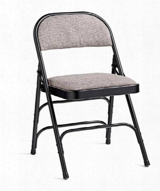 Steel & Fabric Folding Chair By Samsonite