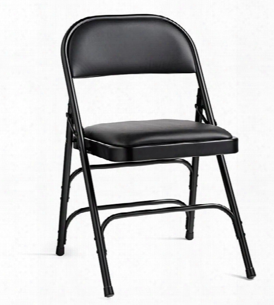 Steel & Vinyl Folding Chair By Samsonite