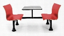 """24"""" x 48"""" Table with Retro Bench by OFM"""