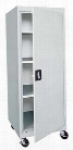 "24""W x 24""D x 66""H Transport Mobile Storage Cabinet by Sandusky Lee"