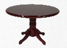 "48"" Round Veneer Conference Table by Furniture Design Group"