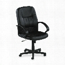 Managerial Mid Back Chair by Lorell