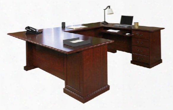 U Shaped Desk By Sauder