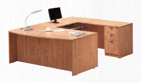U Shaped Desk With 2pedestals By Office Source