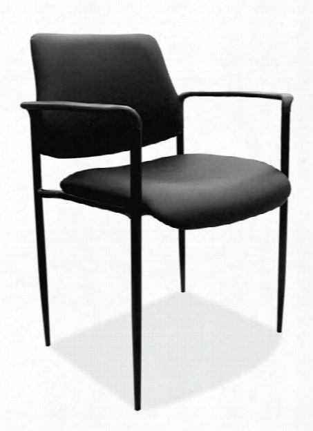 Vinyl Guest Stack Chair By Office Source