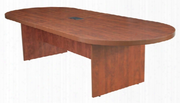 "120"" Racetrack Conference Table With Power Data Grommet By Regency Furniture"