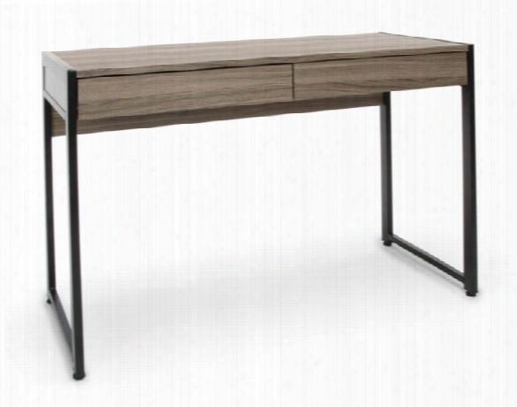 2-drawer Office Desk By Essentials