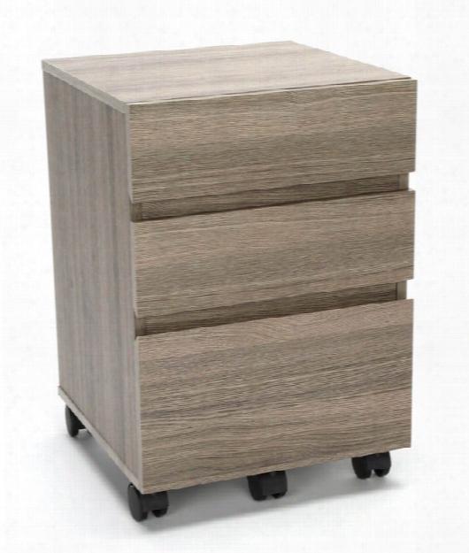 3-drawer Mobile Pedestal By Essentials