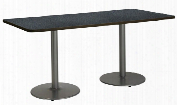 "30"" X 72"" Pedestal Table By Kfi Seating"