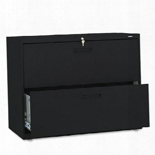 "36""w X 19-1/4""d X 28-3/8""h Two-drawer Lateral File By Hon"