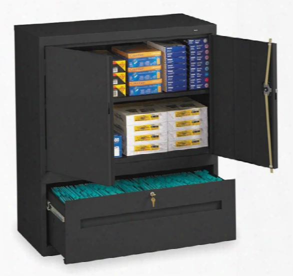 "42""h Storage Cabinet With File Drawerã'â  By Tennsco"