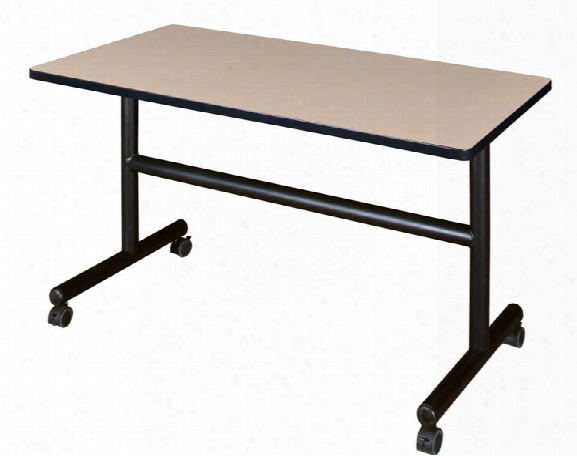 "48""flip Top Mobile Training Table By Regency Furniture"