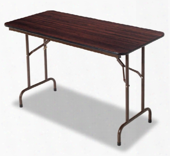 "48""w X 24""d X 29""h Wood Folding Table By Alera"