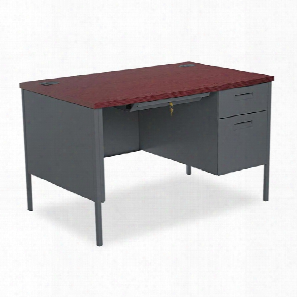 "48""w X 30""d X 29-1/2""h Right Pedestal Desk By Hon"