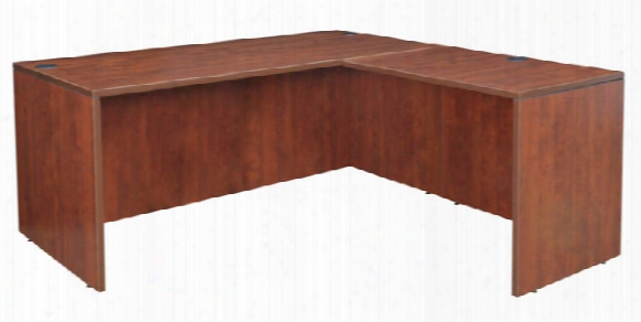 "60"" L-desk Shell With 35"" Return Shell By Regency Furniture"
