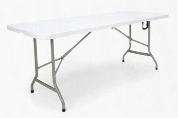 """72"""" Center Folding Table By Essentials"""