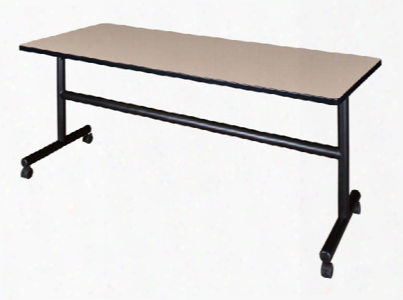 "72"" Flip Top Mobile Training Table By Regency Furniture"